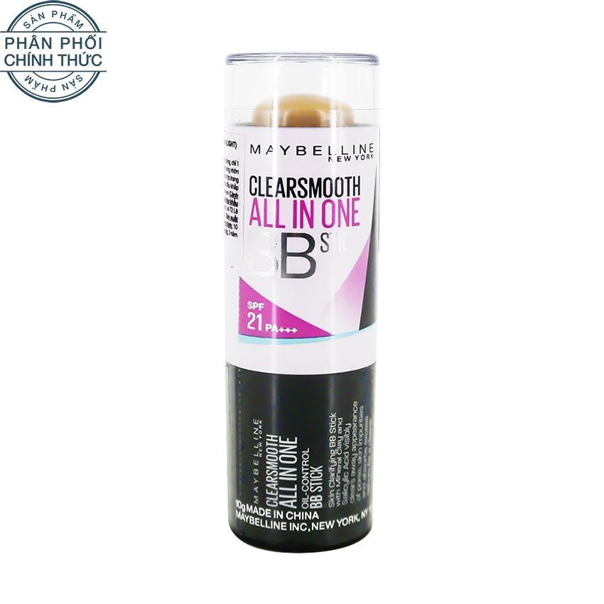 Bán Kem Bb Dạng Thỏi Maybelline Clear Smooth Clear Stick Radiance 10G Nhập Khẩu