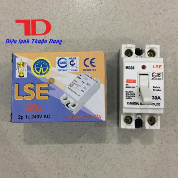 Cầu dao an toàn LSE 30A, CB tự động