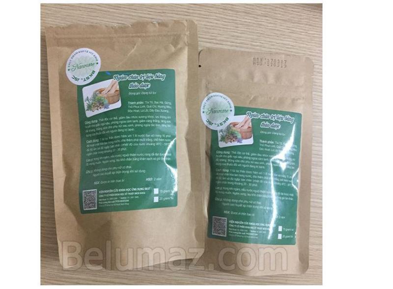 Thảo dược ngâm chân vị thuốc dân gian (gói 2 túi)-BKST cao cấp