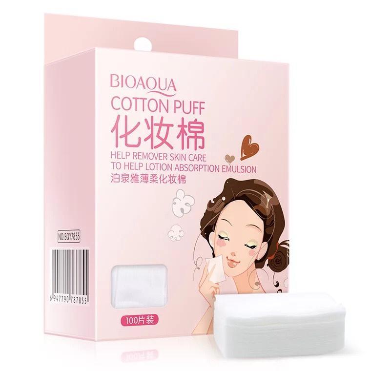 Bông tẩy trang Bioaqua (100 miếng)