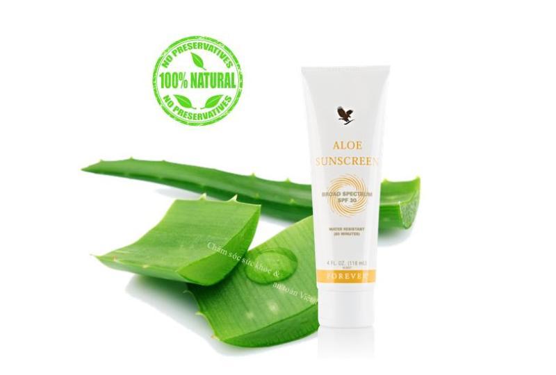 Kem chống nắng từ Lô Hội Aloe Sunscreen 118ml nhập khẩu