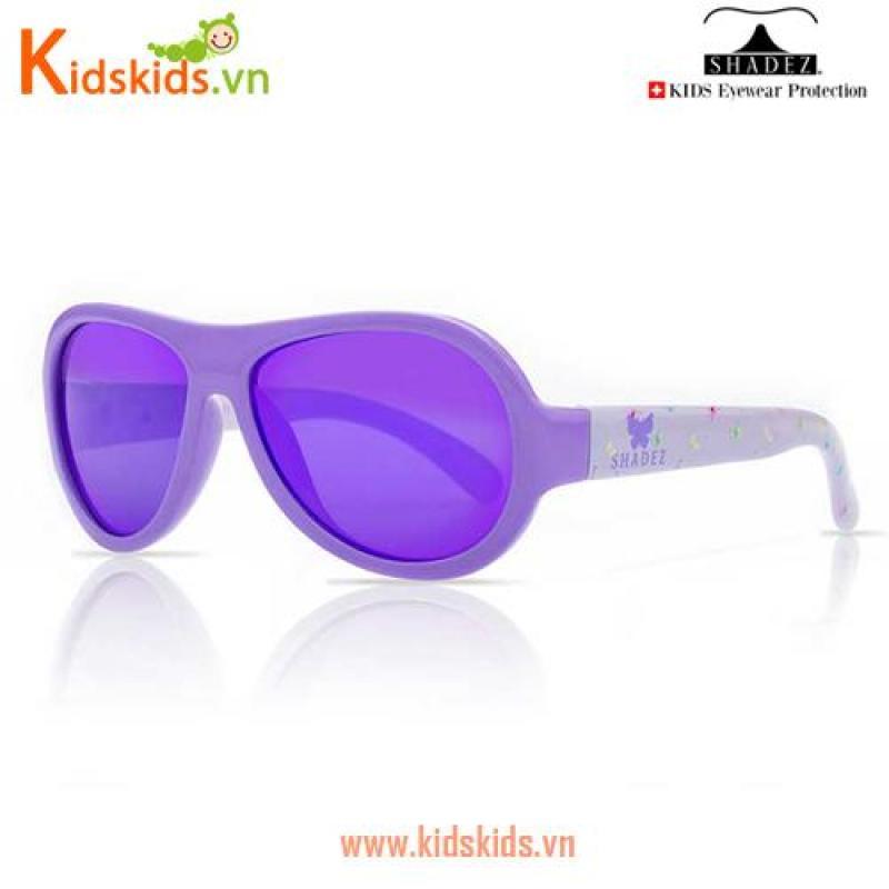 Giá bán Kính chống tia cực tím trẻ em SHADEZ - Butterfly Purple, 3-7 tuổi
