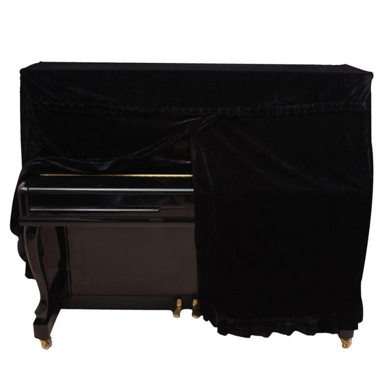 Pleuche Đàn Piano nhung chống bụi tay áo