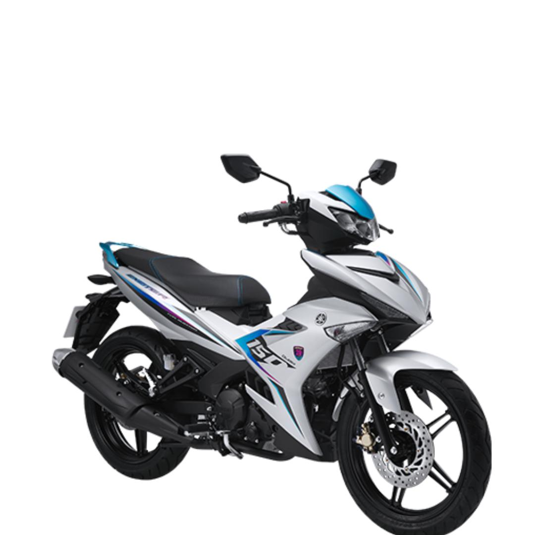 Xe Yamaha Exciter RC 2019 ( Bạc Nhám) + Tặng nón bảo hiểm, áo mưa, móc khóa xe