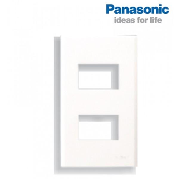 Mặt nạ âm tường 2 thiết bị Panasonic ( Wide ) - Điện Việt giá rẻ