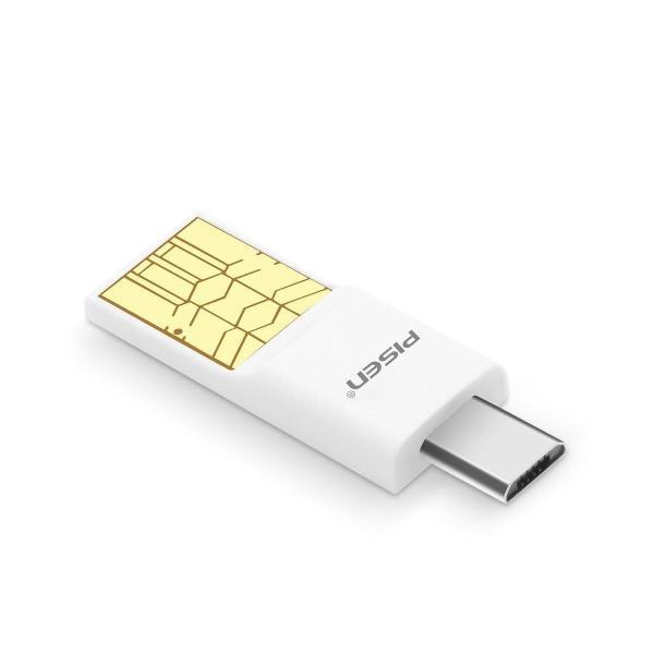 Đầu đọc thẻ nhớ MicroSD kiêm đầu chuyển OTG cho điện thoại Pisen E102