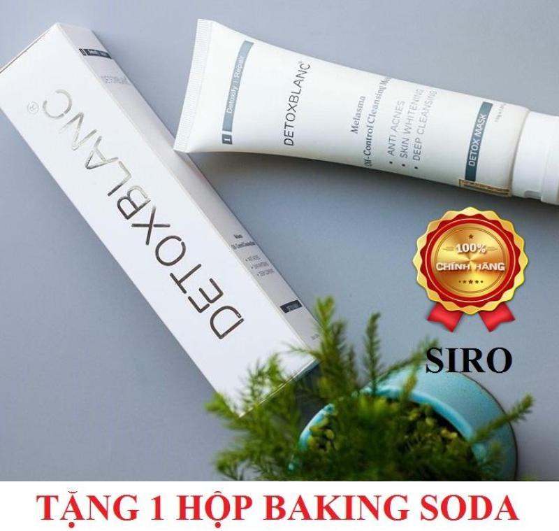 Mặt nạ thải độc Detox BlanC 150ml + Tặng kèm 1 hộp tẩy trắng răng Baking Soda