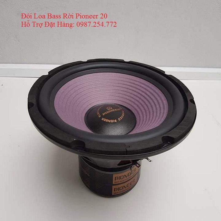 LOA BASS RỜI PIONEER 20 (1 ĐÔI) Nhật Bản