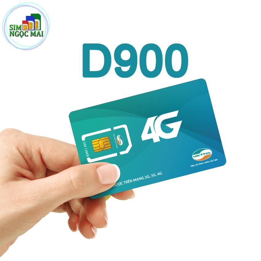 Hình ảnh Sim 4G Viettel 7Gb/tháng D900 - Trọn gói 1 năm