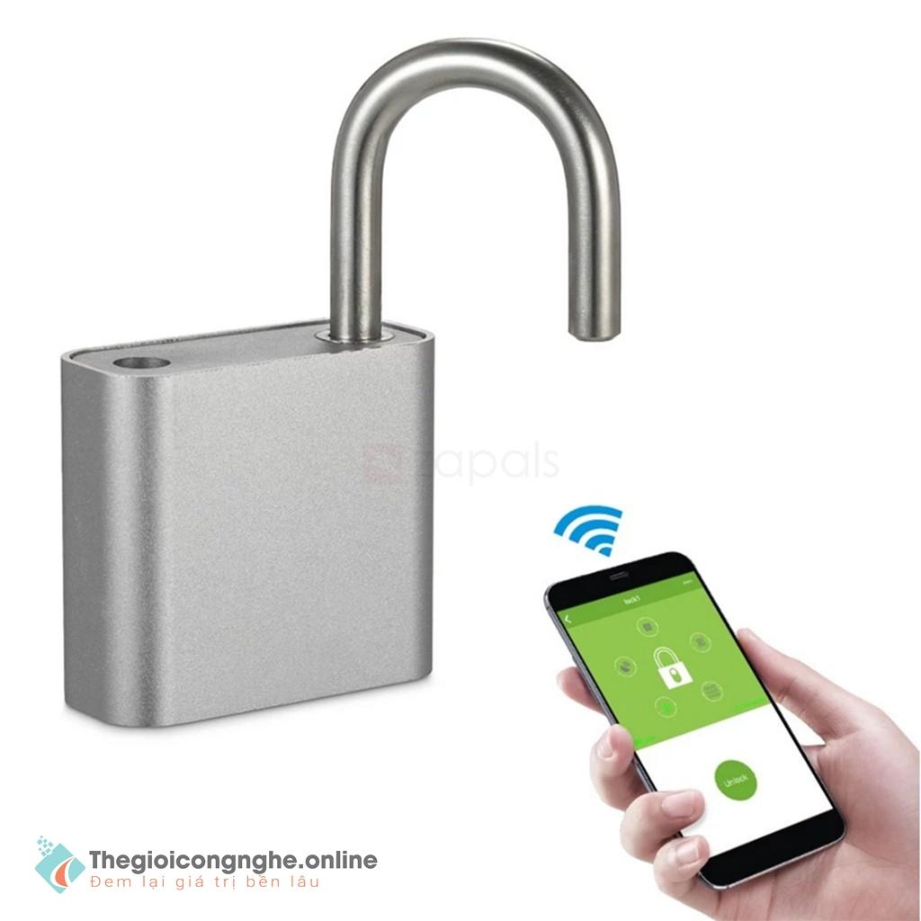 Ổ khoá cửa Bluetooth chống trộm - mở bằng điện thoại CAO CẤP