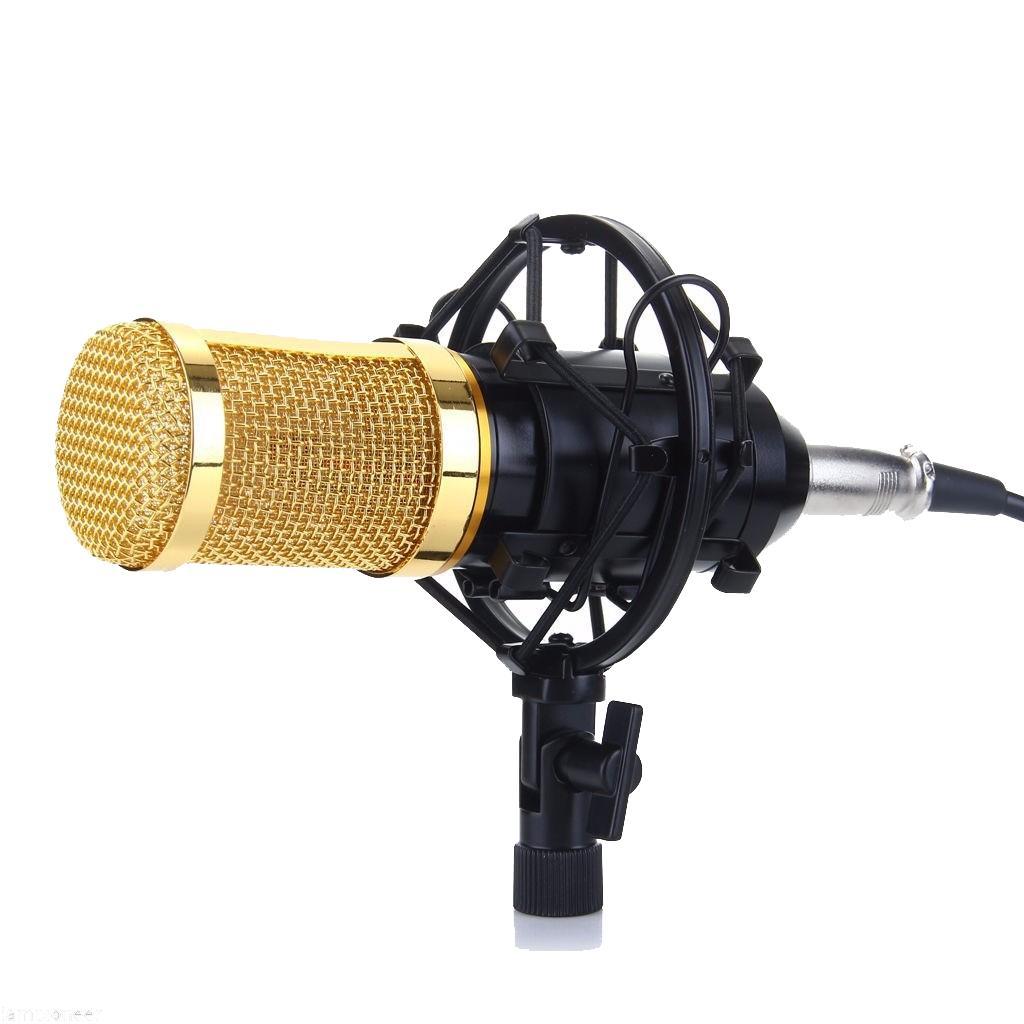 (Xem Video)Mic thu âm Zansong BM900 chuyên nghiệp - Micro live stream,karaoke online cực hay (Màu vàng,xám,đen)