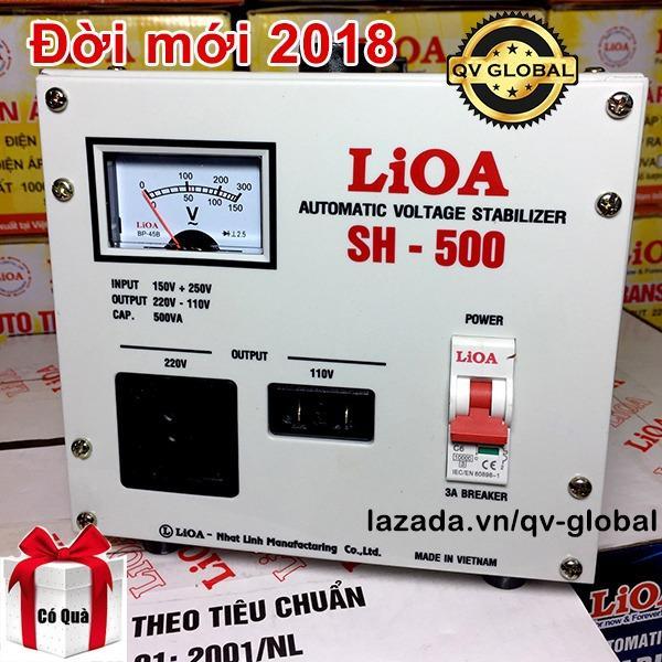 Ổn Ap Lioa 1 Pha 500Va 500W 2018 Keo Điện Từ 150V Len 220V Sh 500 Lioa Chiết Khấu 40