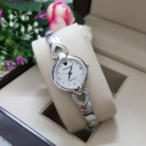 Đồng hồ nữ lắc tay Sunrise SL684SZA Fullbox kính Sapphire chống xước
