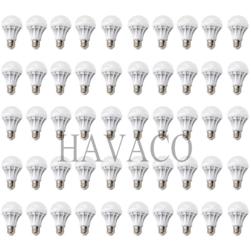 Bộ 50 bóng đèn LED BULB 3W