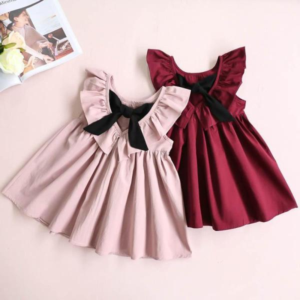 Giá bán Váy nơ bèo cực yêu dành cho bé gái
