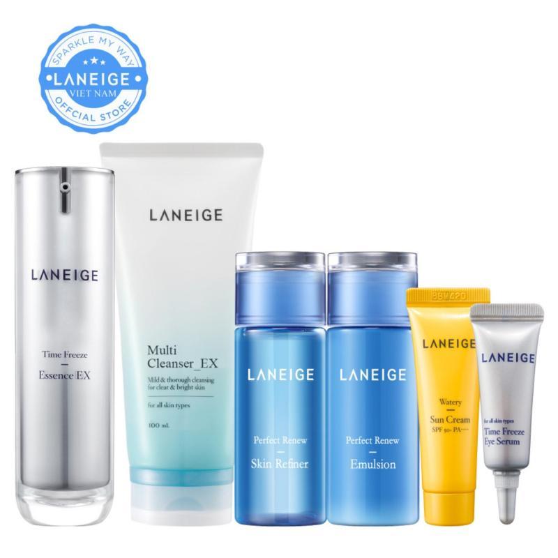 Bộ dưỡng tinh chất ngăn ngừa lão hoá da Laneige Time Freeze Essence Ex 40ml cao cấp