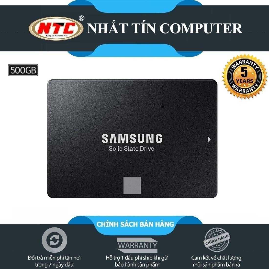Hình ảnh Ổ cứng SSD Samsung 860 Evo 500GB 2.5-Inch SATA III - box Hoa (Đen) - Bảo hành 5 năm