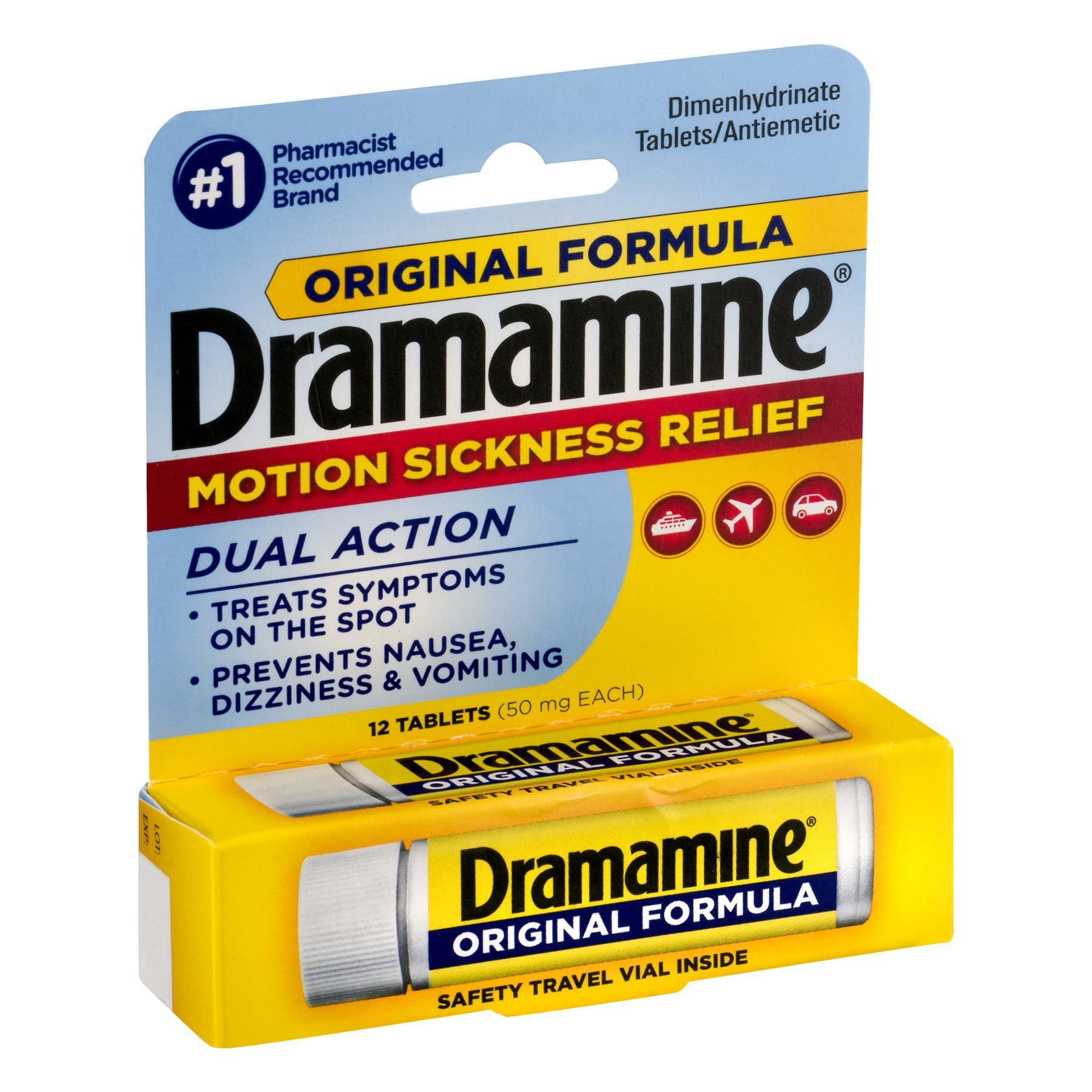 Thuốc chống say tàu xe Dramamine của Mỹ nhập khẩu