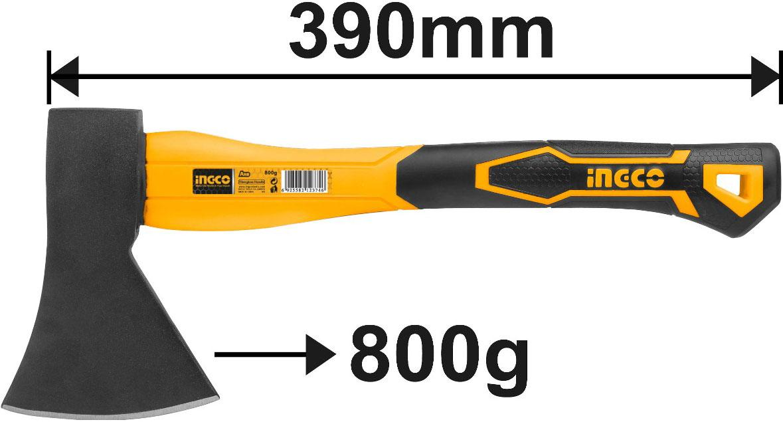 800g Búa rìu INGCO HAX0208008