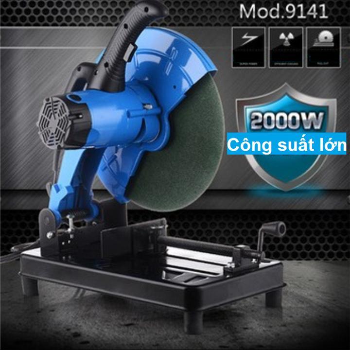 máy cắt sắt bàn gấp 9141-D355 2000W