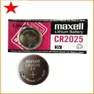 1 viên pin Cr2025, pin Cmos Maxell lithium 3V thumbnail