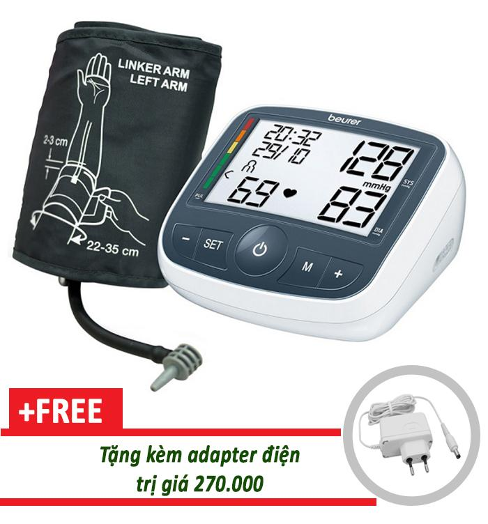 Nơi bán Máy đo huyết áp bắp tay Beurer BM40 tặng adapter