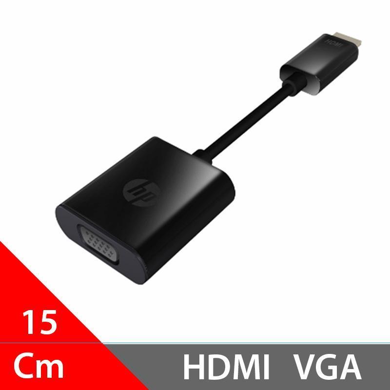 Bảng giá Dây cáp chuyển HDMI ra VGA độ nét cao thương hiệu HP 720P/1080P HSTNN-GD07 (15Cm - Màu đen) Phong Vũ