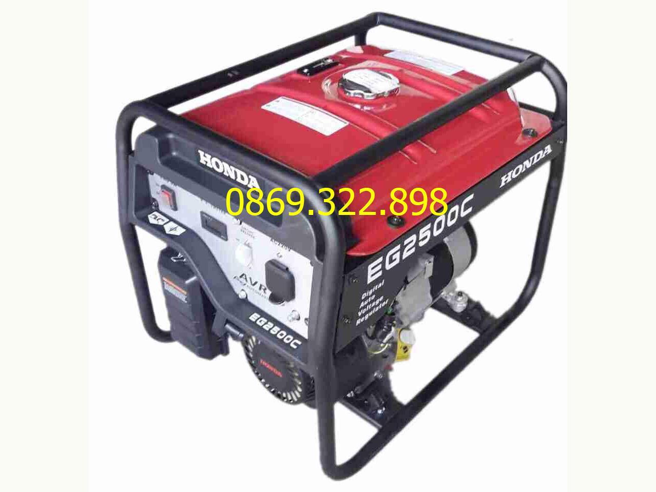 Máy phát điện honda EG2500CX 2.5kw chạy xăng