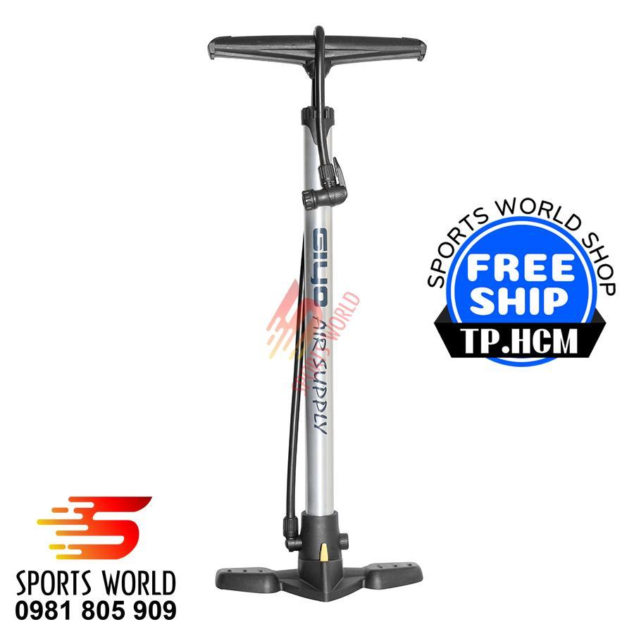 Hình ảnh Bơm xe đạp, bơm xe gắn máy Giyo GF-32, thân nhôm siêu nhẹ - Bơm xe đạp, bơm xe gắn máy, bơm hơi, ống bơm, phụ kiện xe đạp, phụ tùng xe đạp