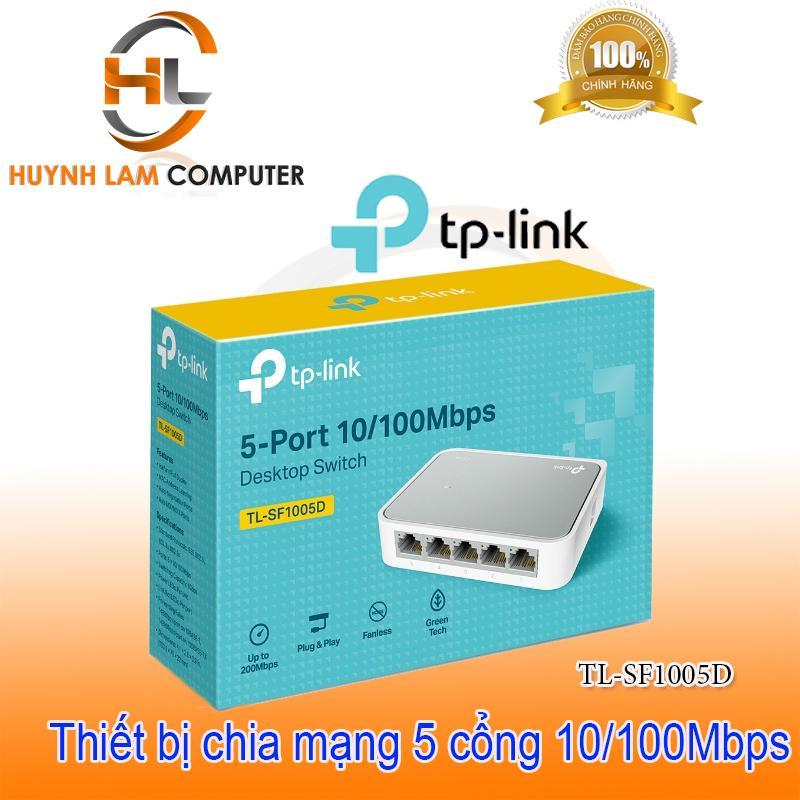 Bộ chia mạng 5 cổng - Switch 5 port TPLink SF1005D FPT phân phối