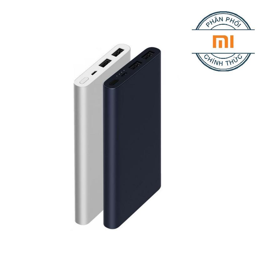 Pin Sạc Dự Phong Xiaomi 10 000Mah Gen 2S 2018 Bạc Hang Phan Phối Chinh Thức Xiaomi Chiết Khấu 50