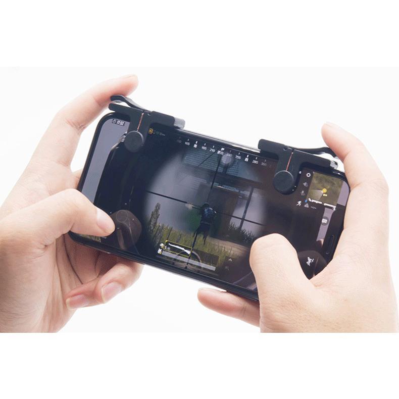 Hình ảnh Bộ 2 Nút Bấm Chơi Game PUBG Dòng C9 Cơ Đầu Tròn Thế Hệ 3