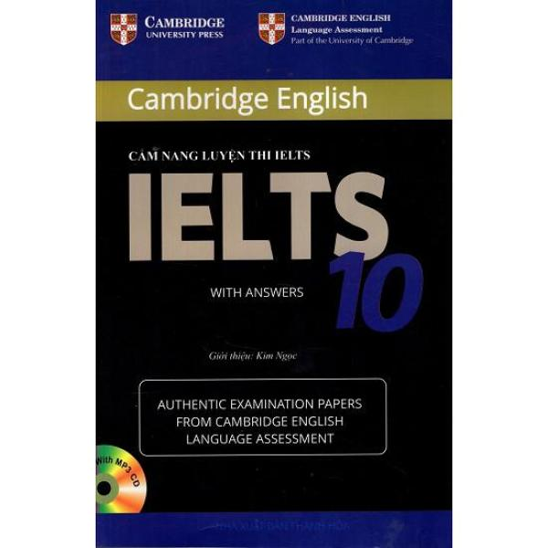 Cẩm Nang Luyện Thi IELTS 10 - With Answers