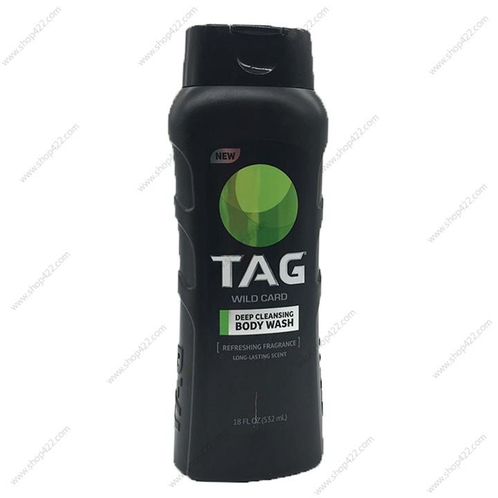 Sữa Tắm TAG Wild Card 532ml nhập khẩu