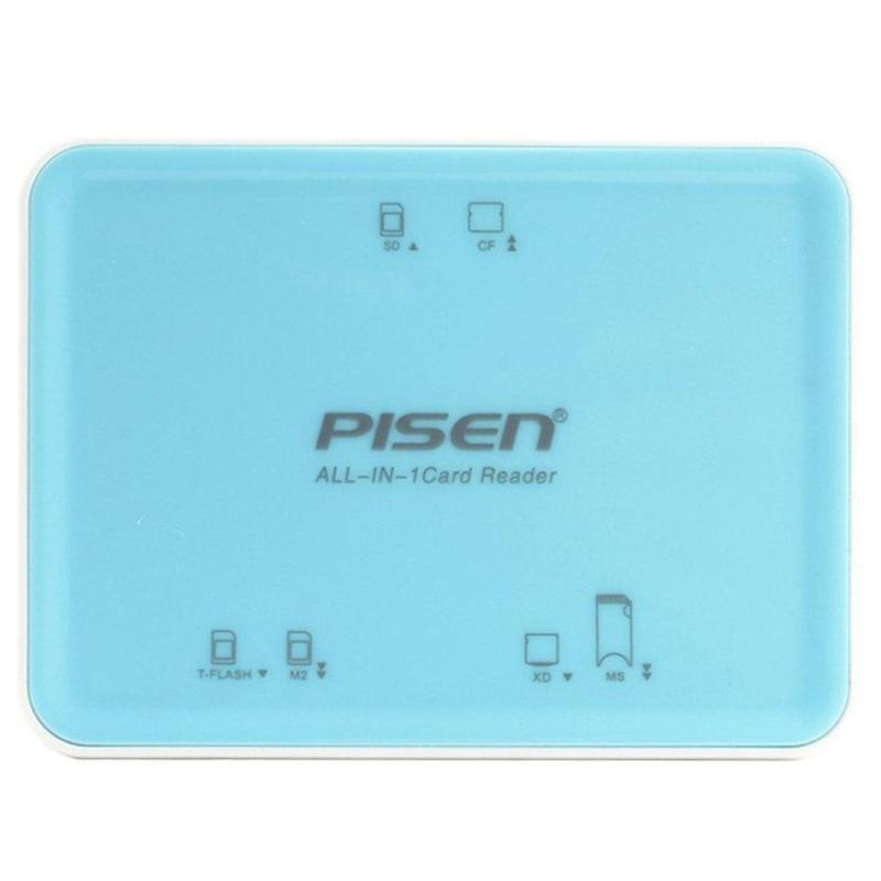 Đầu đọc thẻ Pisen Card Reader II All-in-1 USB 2.0 TS- E069 ( Hàng Cty )