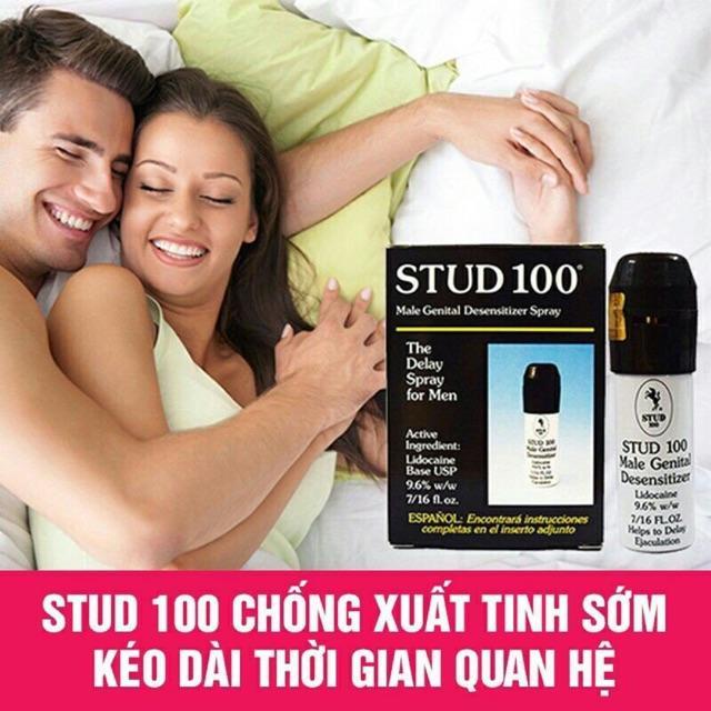 Chai Xịt Kéo Dài Thời Gian Stud 100