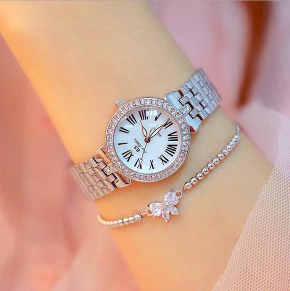Đồng hồ nữ BS Bee Sister FA1560 đính đá thời trang