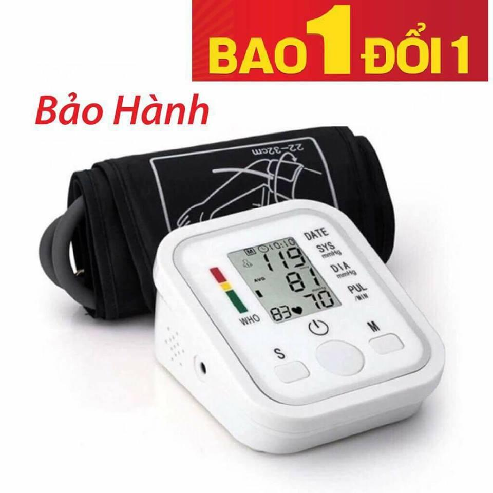 Máy đo huyết áp bắp tay màn hình chân thật máy chạy êm-Có hình ảnh thật
