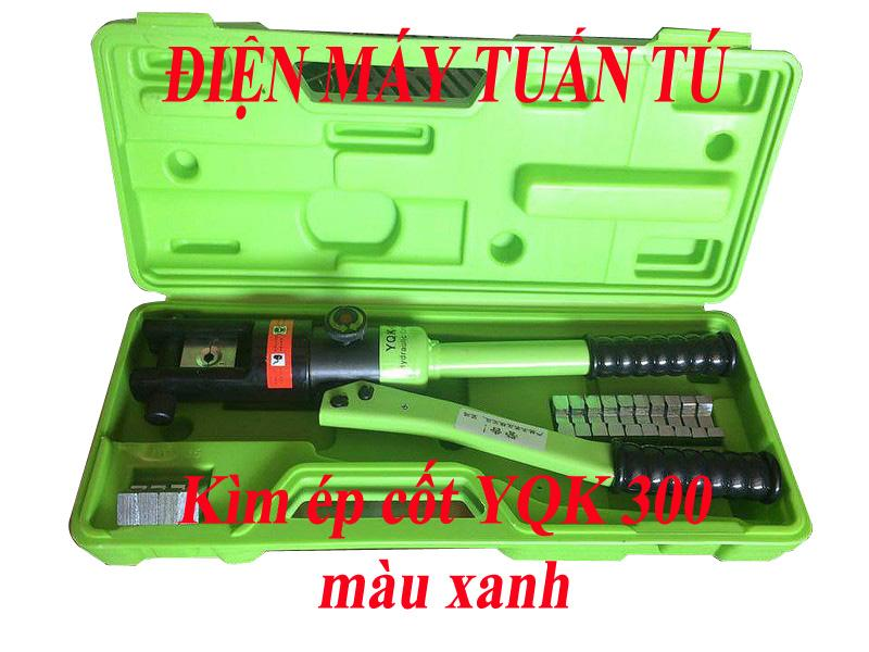 KÌM ÉP CỐT THỦY LỰC YQK- 300