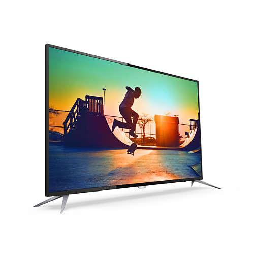 Bảng giá TV Internet Led thông minh siêu mỏng Ultra 4K 50 inch Philips 50PUF6152/T3 - Hàng nhập khẩu Hồng Kông