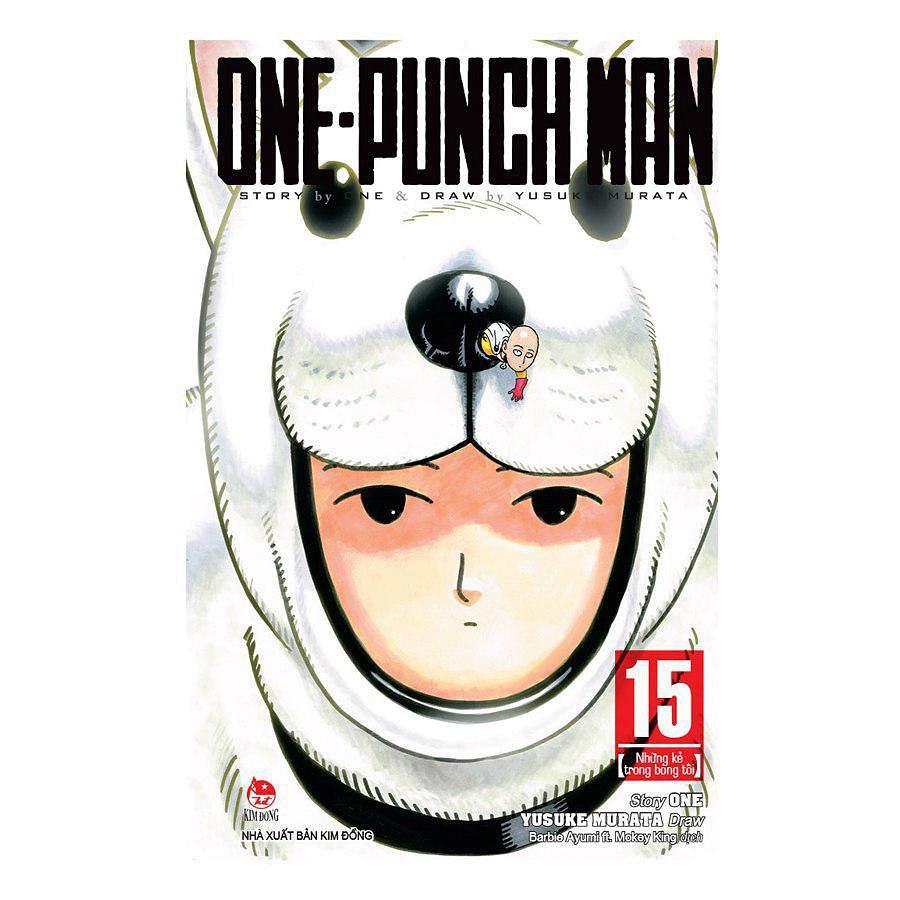 Mua One-Punch Man tập 1-tập 16 (có đầy đủ các tập)