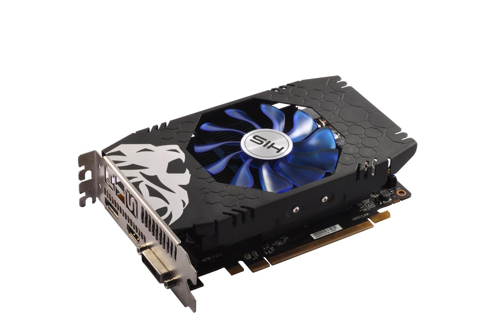 Card màn hình RX 460 His DDR5 4G