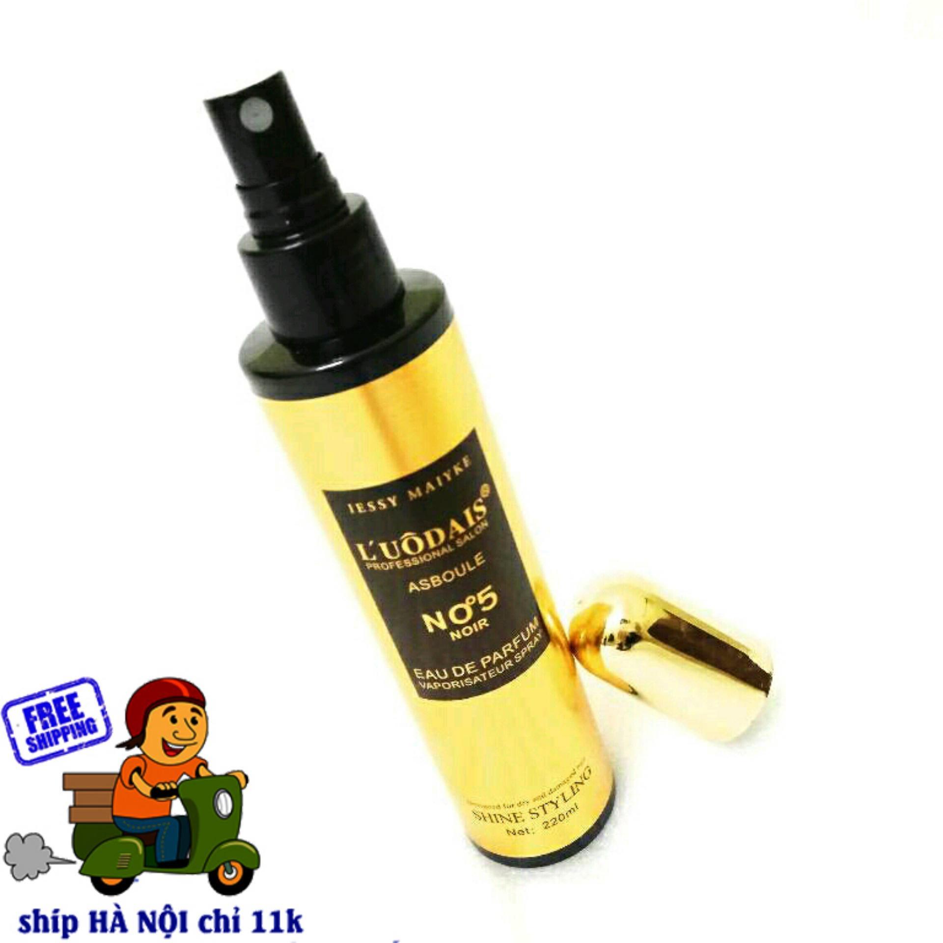 Hình ảnh Xịt dưỡng tóc hương nước hoa No5 ( 220ml )
