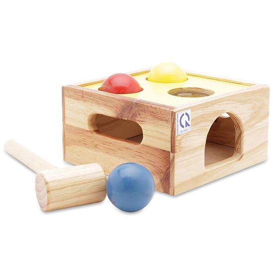 Đồ chơi gỗ mô hình Vietoys hộp búa ba bi VT3P-0044