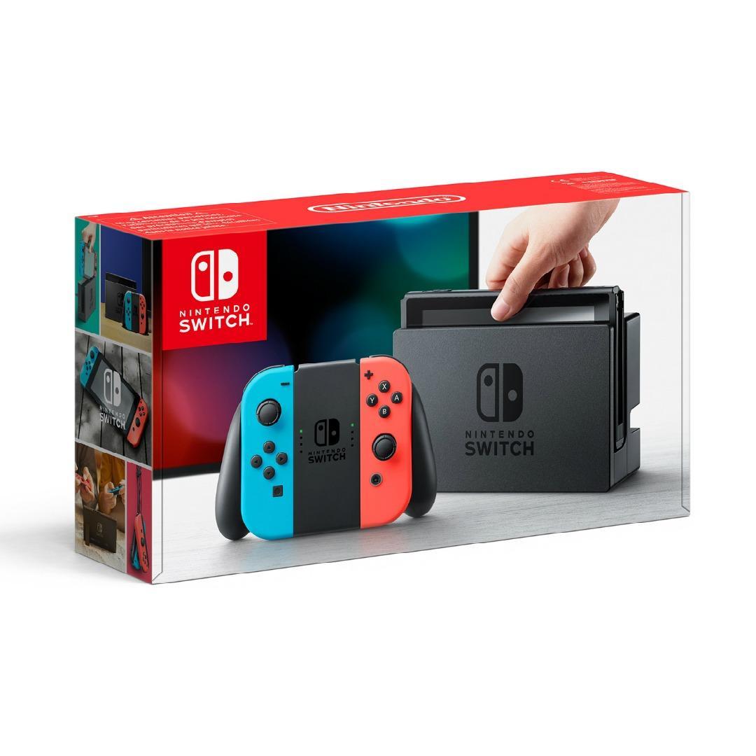 Máy Chơi Game - Nintendo Switch Neon Blue and Red Joy-Con