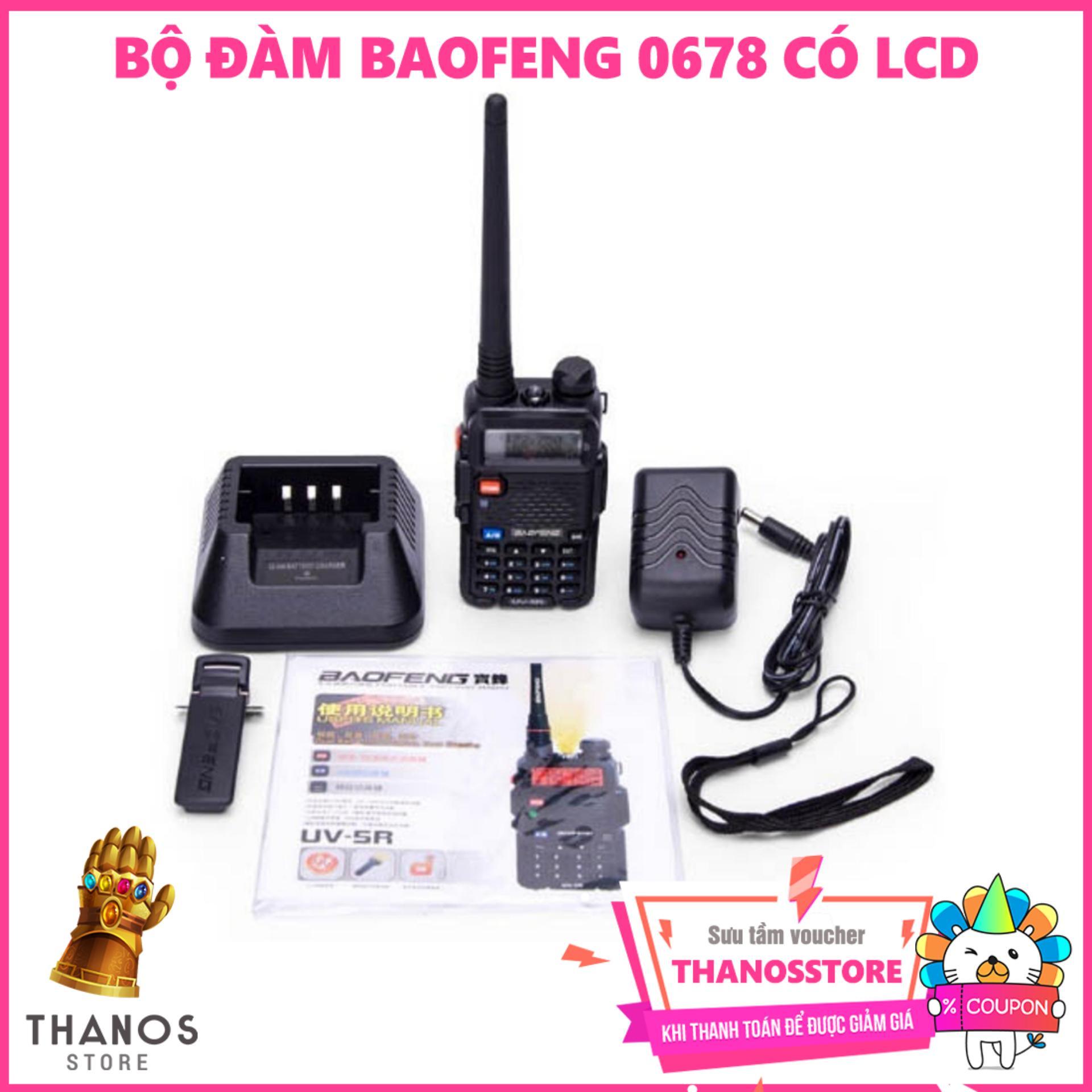 Hình ảnh Bộ đàm BAOFENG 0678 Có LCD - Thanos Store