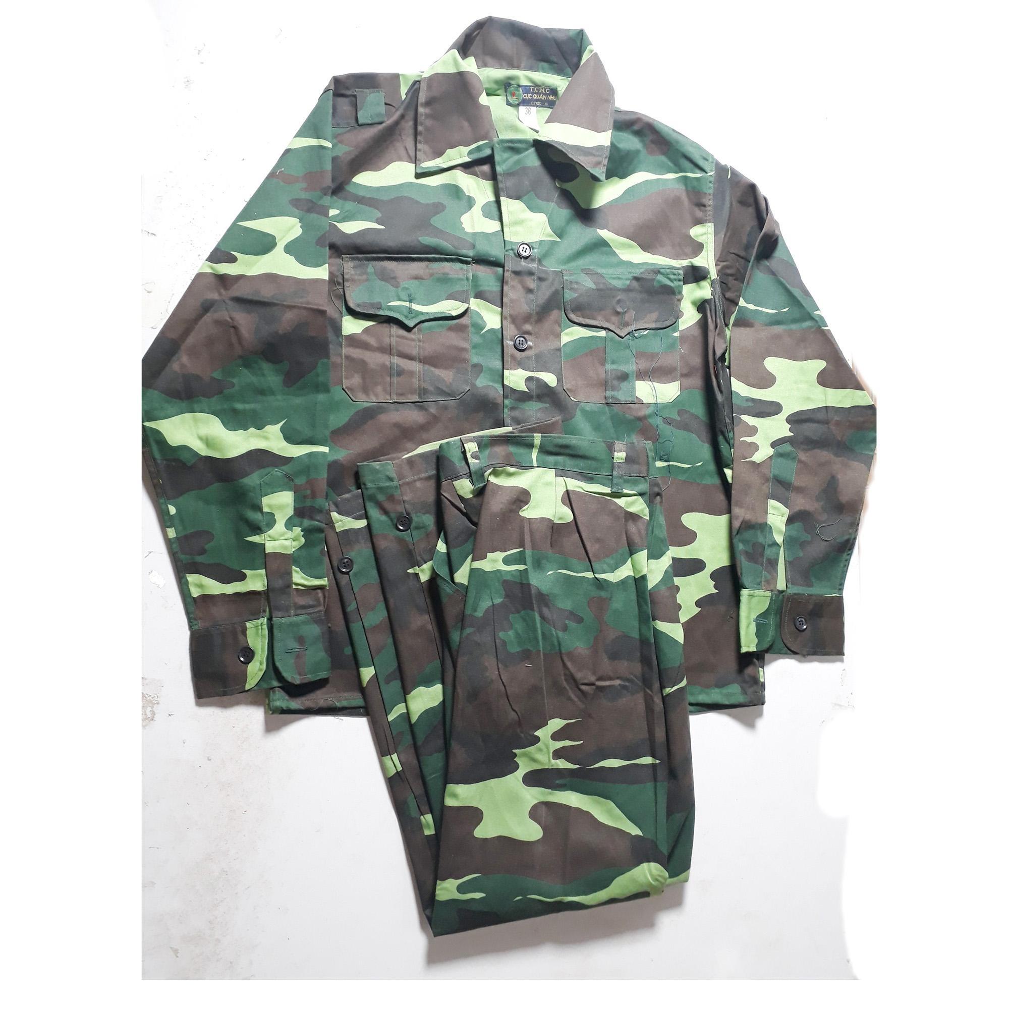 Bộ quần áo rằn ri bộ đội