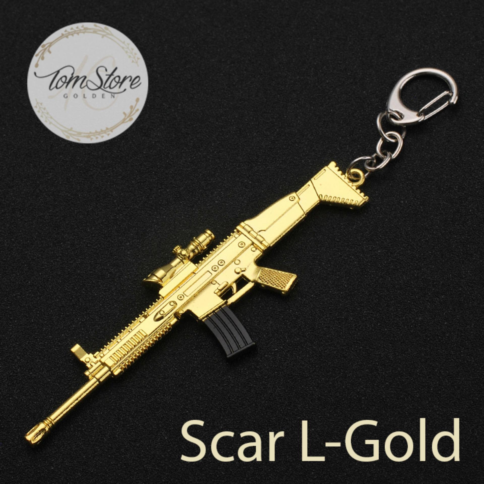 Hình ảnh Móc khóa Scar-L GOLDEN PUBG 12cm - toms016