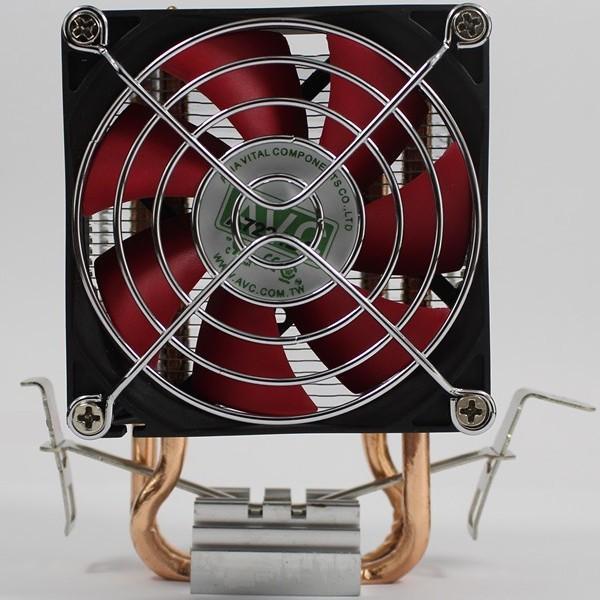 Bảng giá Bộ tản nhiệt AVC 2 ống đồng hỗ trợ đa nền tảng Intel/AMD quạt 8cm siêu êm ái Phong Vũ