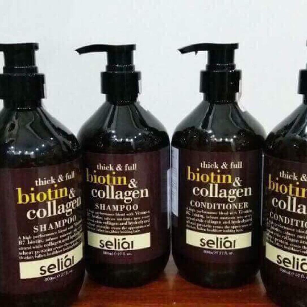 Dầu Xả Thick & Full Organix Biotin & Collagen Nhật Bản 800ml